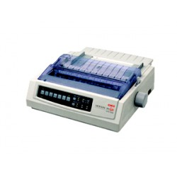 OKI ML390 Turbo Plus Dot Matrix Printer แคร่สั้น