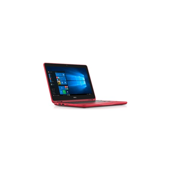 Dell Inspiron 3168 (W56631202TH) 2-1 Notebook Red
